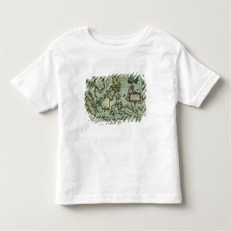 Map of the East Indies, pub. 1635 in Amsterdam (ha Toddler T-Shirt