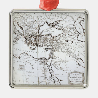 Map of the Eastern Part of the Roman Empire Christmas Ornament
