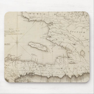 Map Of the French Part Of St Domingo Mouse Mat