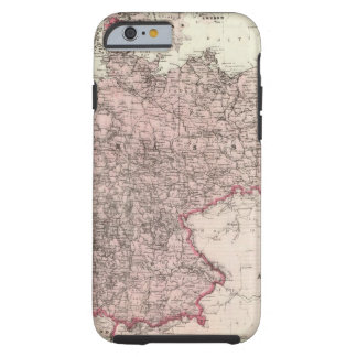 Map of the German Empire Tough iPhone 6 Case