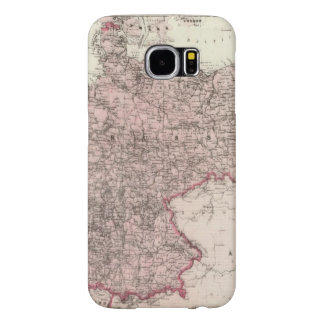 Map of the German Empire Samsung Galaxy S6 Cases