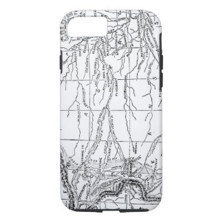 Map of the Gold Region, published in 'The Weekly' iPhone 8/7 Case