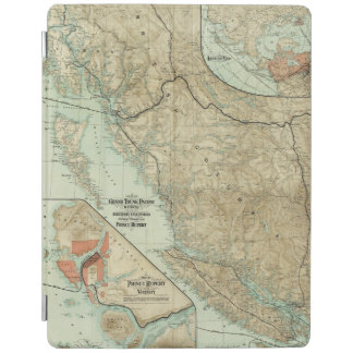 Map Of The Grand Trunk Pacific Railway iPad Cover