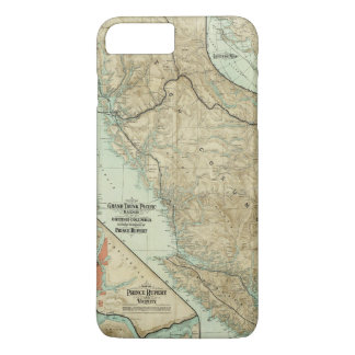 Map Of The Grand Trunk Pacific Railway iPhone 8 Plus/7 Plus Case