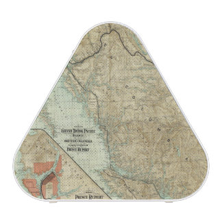 Map Of The Grand Trunk Pacific Railway Bluetooth Speaker