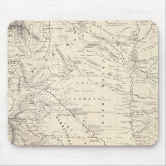 Map of the Great Chaco and neighboring regions Mouse Mat