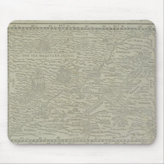 Map of the Holy Land Mouse Pad