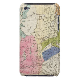 Map of the Indian Tribes of North America Barely There iPod Covers