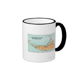 Map of the Island Mugs
