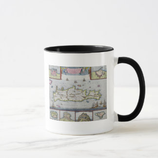 Map of the Island of Candia Mug