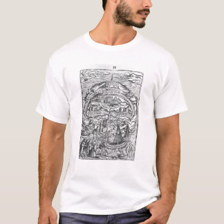 Map of the Island of Utopia, Book frontispiece T-Shirt
