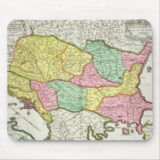 Map of the Kingdom of Hungary and the States which Mouse Mat