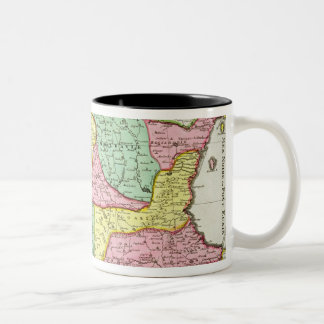 Map of the Kingdom of Hungary and the States which Two-Tone Coffee Mug