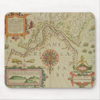Map of the Magellan Straits, Patagonia, from the M Mouse Mat