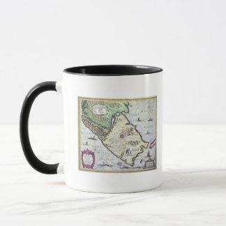 Map of the Magellan Straits, Patagonia Mug