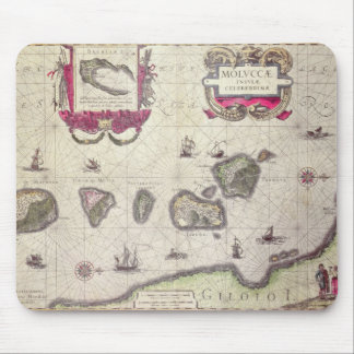 Map of The Moluccan Island, engraved Mouse Mat