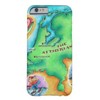 Map of the Netherlands Barely There iPhone 6 Case