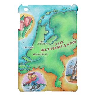Map of the Netherlands Case For The iPad Mini