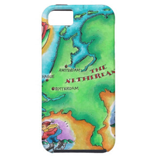 Map of the Netherlands Case For The iPhone 5