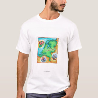 Map of the Netherlands T-Shirt