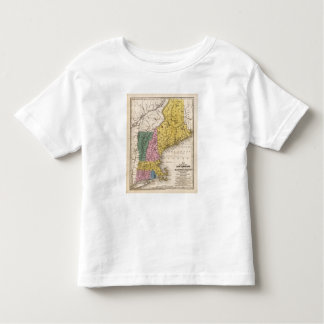 Map of the New England or Eastern States Toddler T-Shirt