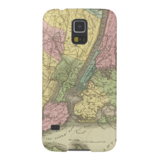 Map of the New York Galaxy S5 Cover