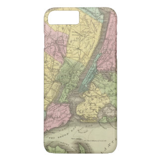 Map of the New York iPhone 8 Plus/7 Plus Case