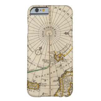 Map of the North Pole and territories near it Barely There iPhone 6 Case