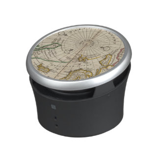 Map of the North Pole and territories near it Bluetooth Speaker