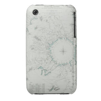 Map of the North Pole iPhone 3 Cases