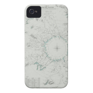 Map of the North Pole Case-Mate iPhone 4 Case