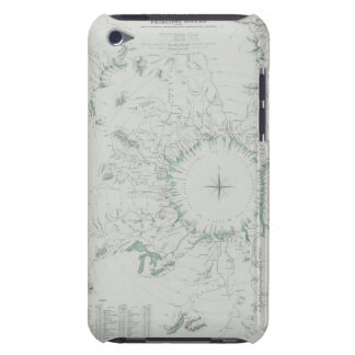 Map of the North Pole iPod Case-Mate Cases