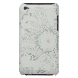 Map of the North Pole iPod Touch Cover