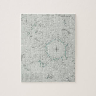 Map of the North Pole Jigsaw Puzzle