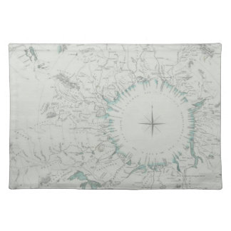 Map of the North Pole Placemat