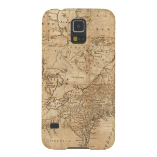 Map of the Northern and Middle States 2 Galaxy S5 Case