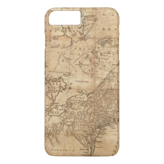 Map of the Northern and Middle States 2 iPhone 8 Plus/7 Plus Case