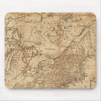 Map of the Northern and Middle States 2 Mouse Pad