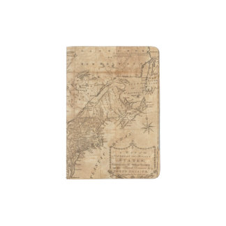 Map of the Northern and Middle States 2 Passport Holder