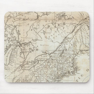 Map of the Northern and Middle States Mouse Mat