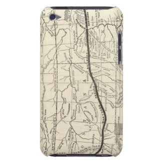 Map of the Northern Pacific Railroad Case-Mate iPod Touch Case