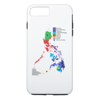 Map of the Philippines,  iPhone 7 Plus Case