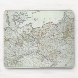 Map of the Prussian States in 1799 Mouse Mat