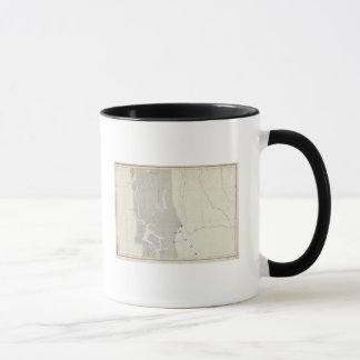 Map of the Republic of Chile 11 Mug