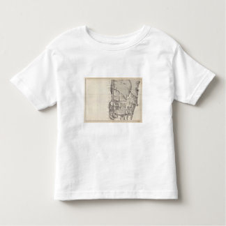 Map of the Republic of Chile 2 Toddler T-Shirt