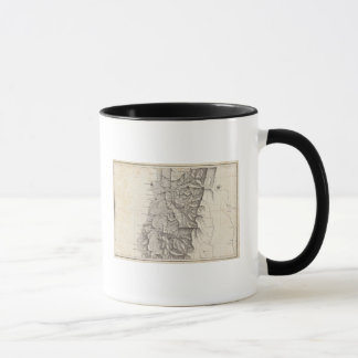 Map of the Republic of Chile 3 Mug