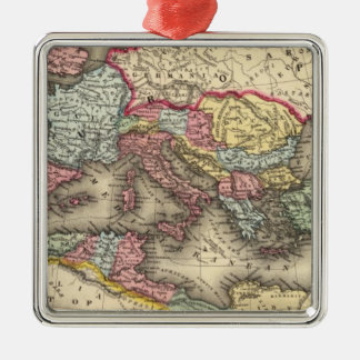 Map of the Roman Empire Christmas Ornament