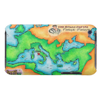 Map of the Roman Empire iPod Touch Cover