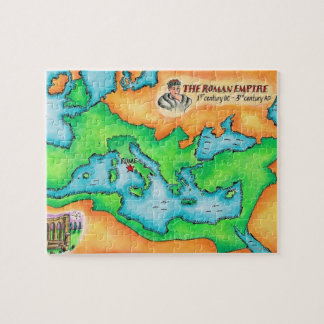 Map of the Roman Empire Jigsaw Puzzle