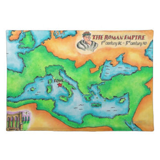 Map of the Roman Empire Placemat
